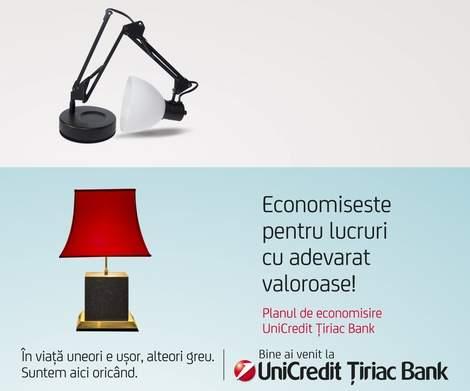 plan de economisire Unicredit Tiriac Bank