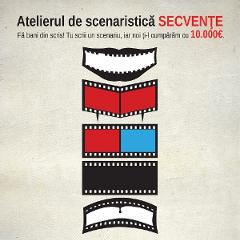 Au fost selectati 9 participanti la atelierul de scenaristica SECVENTE