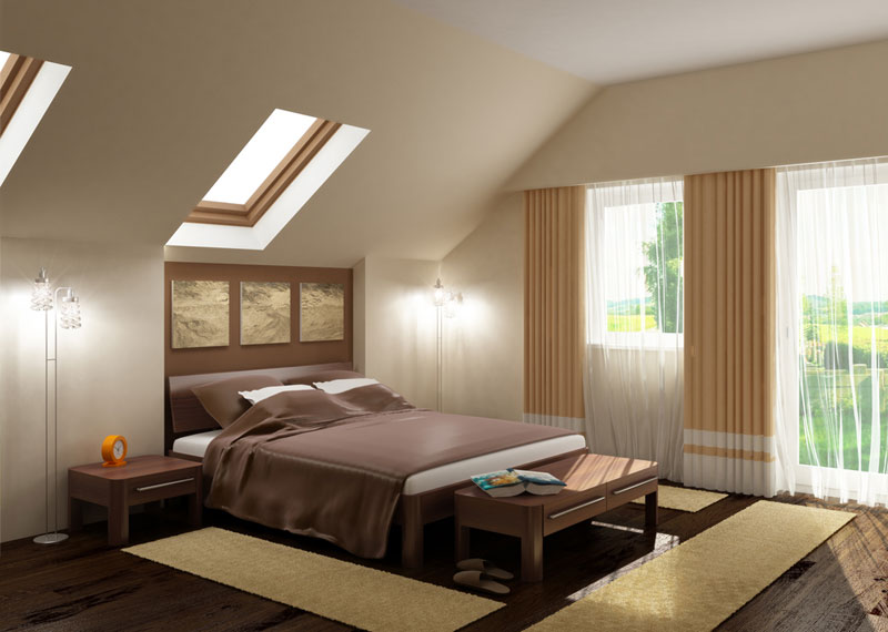 Galerie foto: 10 dormitoare moderne - Varianta 1 - Slide 1 din 10