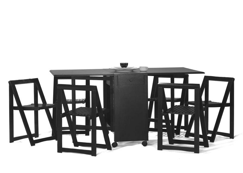 Masa cu scaune pliante MD6