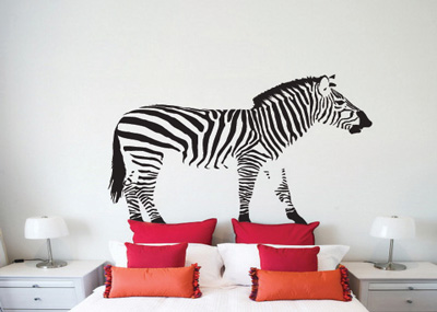 Sticker Zebra