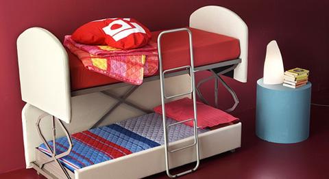 Piese de mobilier pentru garsoniere for Canapea pat