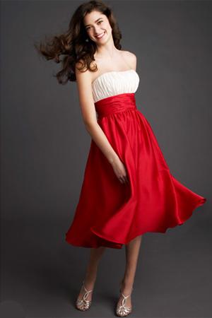 Rochie pentru domnisoarele de onoare Avangarde Brides, colectia Mori