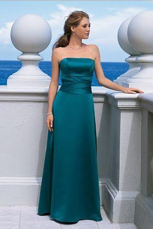 Rochie de seara lunga turcoaz