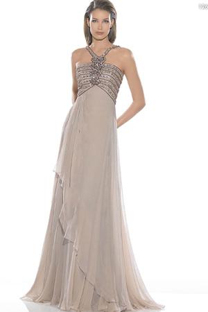 Rochie de seara cu model grecesc