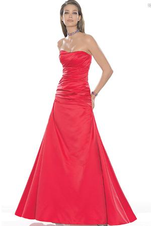 Rochie de seara rosie stil printesa