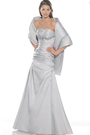 Rochie de seara de culoare gri