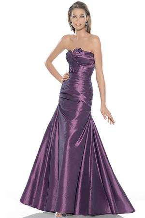 Rochie lunga de seara, de culoare mov