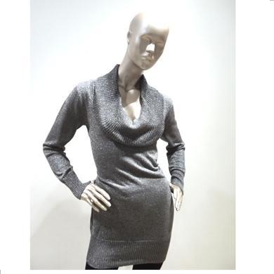20 de modele de pulovere - Pulover gri de dama - Slide 11 din 20