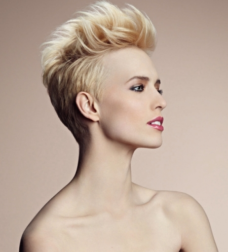 Pompadour hairstyle women