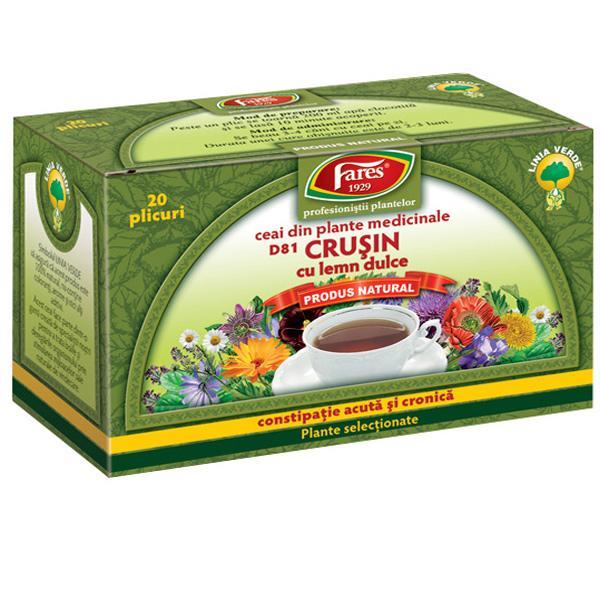 10 Ceaiuri medicinale pentru constipatie si hemoroizi - Ceai de crusin pentru constipatie  - Slide 1 din 10