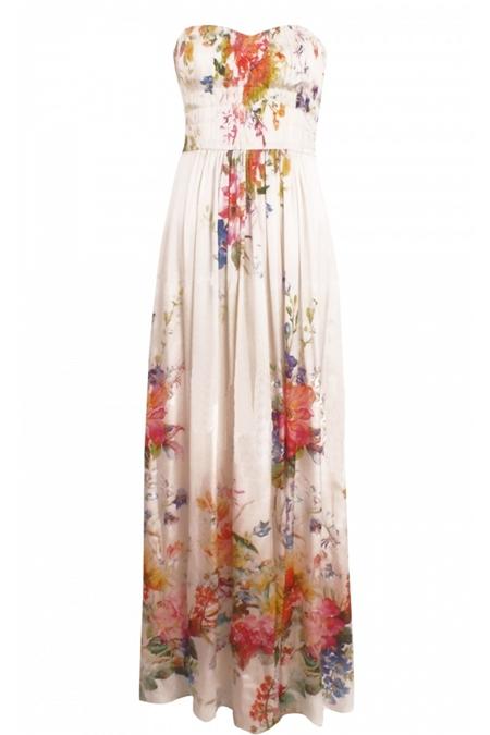 Gypsy funk: tinute si accesorii colorate de primavara - Rochie NISSA imprimeu floral - Slide 12 din 20