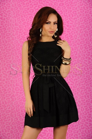 10 Rochii ce nu se vor demoda niciodata - Rochie LaDonna Elegant Look Black - Slide 5 din 10