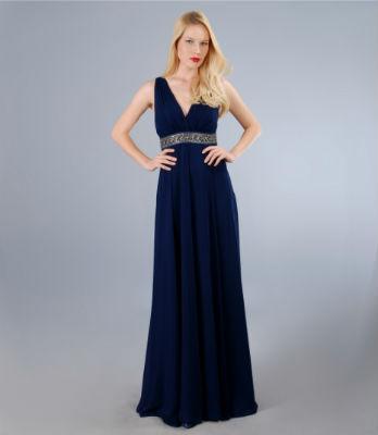 15 modele de rochii de seara pentru nasa - Rochie Yokko lunga - Slide 1 din 15