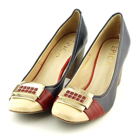 50 de modele de pantofi pentru toamna 2013 - Pantofi Epica bleumarin - Slide 1 din 50