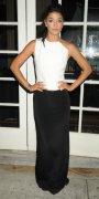 Jessica Szohr si tinuta black and white.