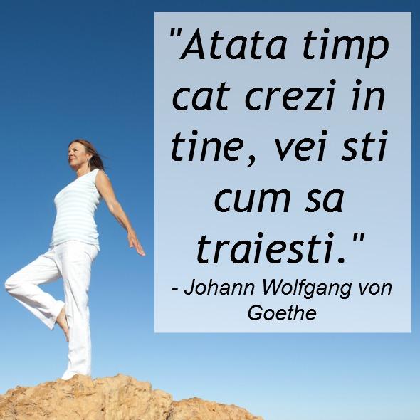 Citaten Goethe : Citate despre incredere depaseste ti limitele