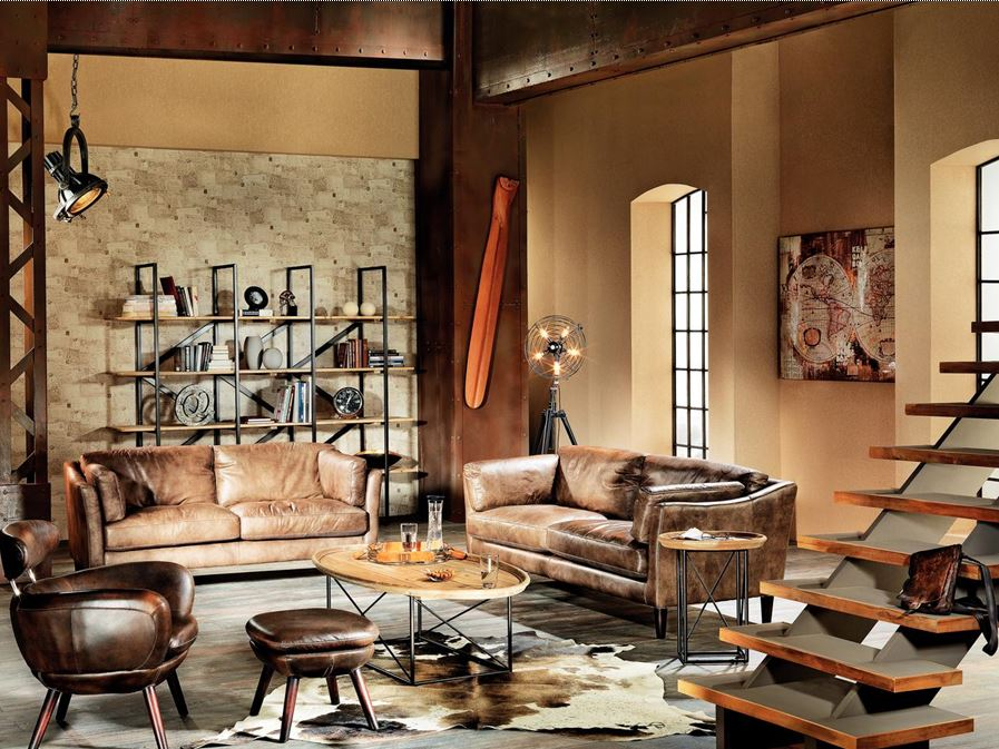 tendinte amenajari 2015 14 piese de mobilier in stilul industrial. Black Bedroom Furniture Sets. Home Design Ideas
