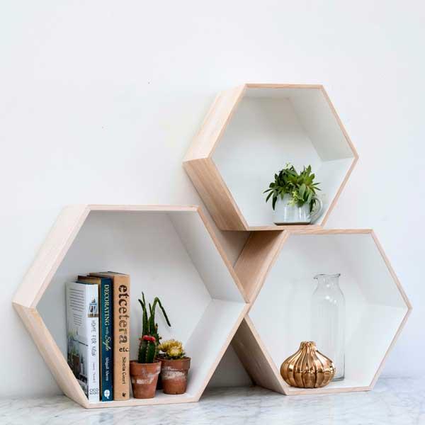 Cool: motive hexagonale, in amenajari - Polite - Slide 1 din 4