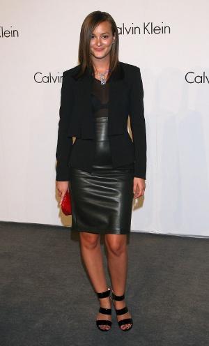 Trend alert: Pielea !!! - Pentru aniversarea de 40 de ani a marcii Calvin Klein, Leighton Meester - Slide 6 din 9