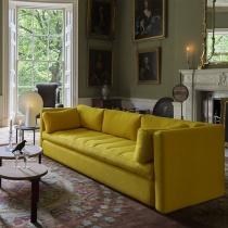 15 piese de mobilier galbene