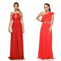 Cele mai frumoase rochii rosii pentru domnisoare de onoare