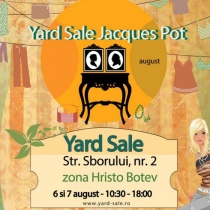 Yard Sale de August la Jacques Pot