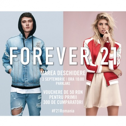 Asteptarea a luat sfarsit: FOREVER 21 prezinta cel mai fashion vis american