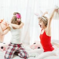 Pijamale cochete pentru nopti relaxante si un somn linistit