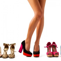 Eleganta pantofilor cu toc gros