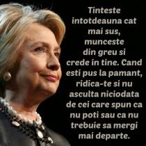 Cele mai frumoase citate ale lui Hillary Clinton