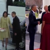 Diferenta dintre Barack Obama si Donald Trump in 2 filmulete
