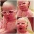 Video: Cum reactioneaza aceasta fetita cand isi aude mama cantand?