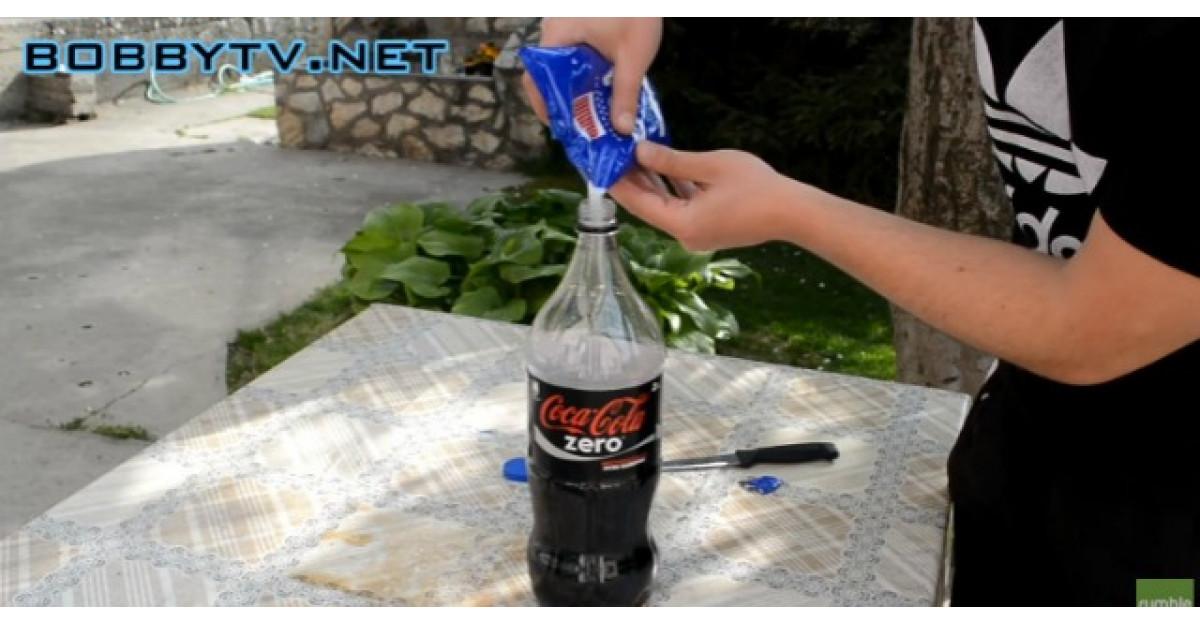 Ce se intampla cand adaugi sare peste Cola?
