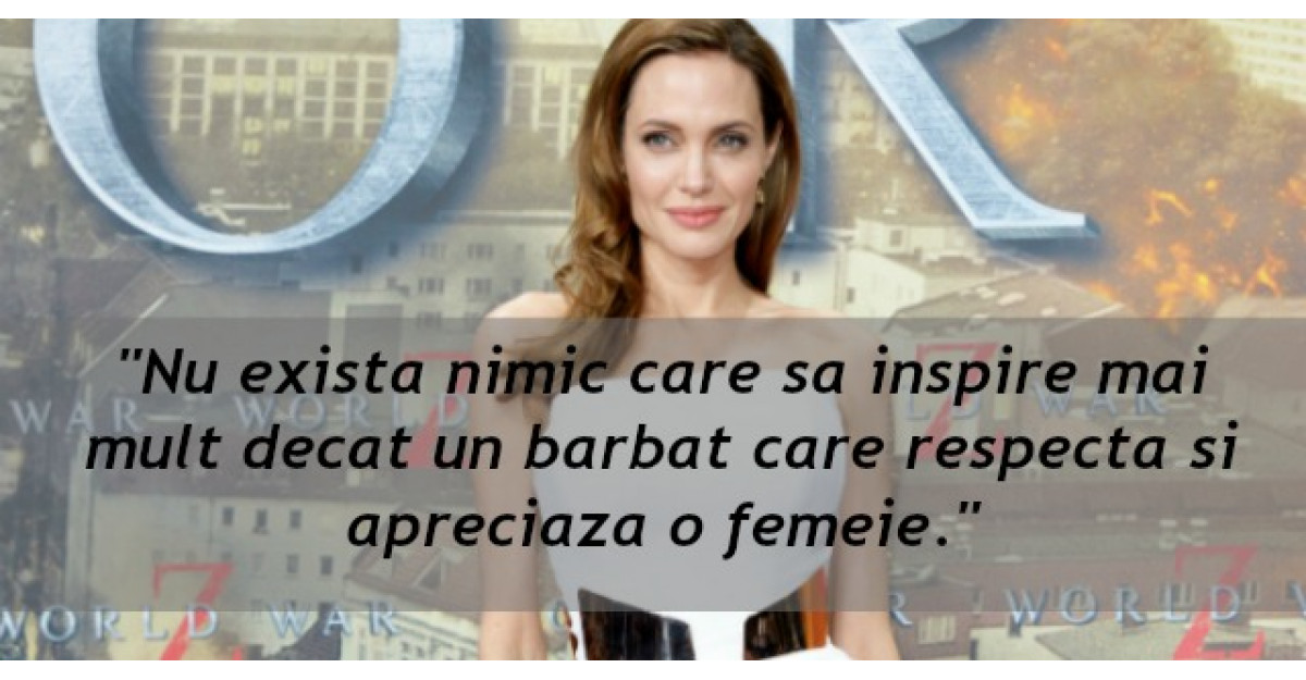 Discursul Angelinei Jolie: Ce vor cu adevarat femeile de la barbati?