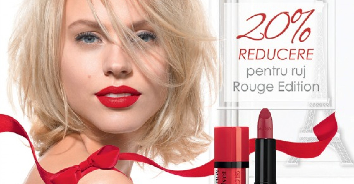 Secretul zambetului chic: editia limitata de rujuri Red in the City de la Bourjois