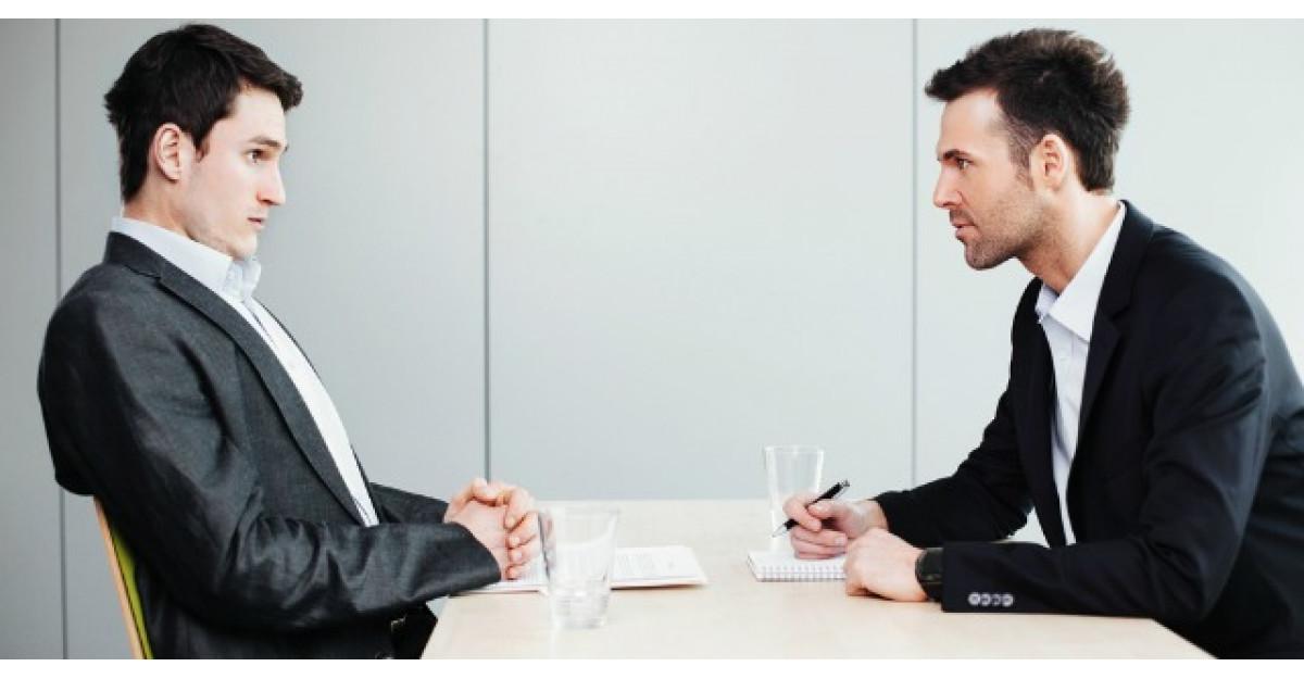 Acest tanar a mers la un interviu pentru angajare. Insa iata ce s-a intamplat