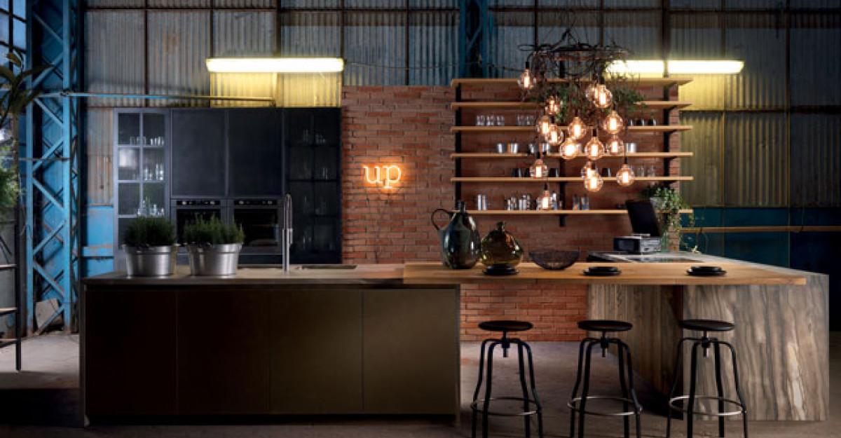 Piese de mobilier si accesorii pentru o bucatarie in stilul industrial