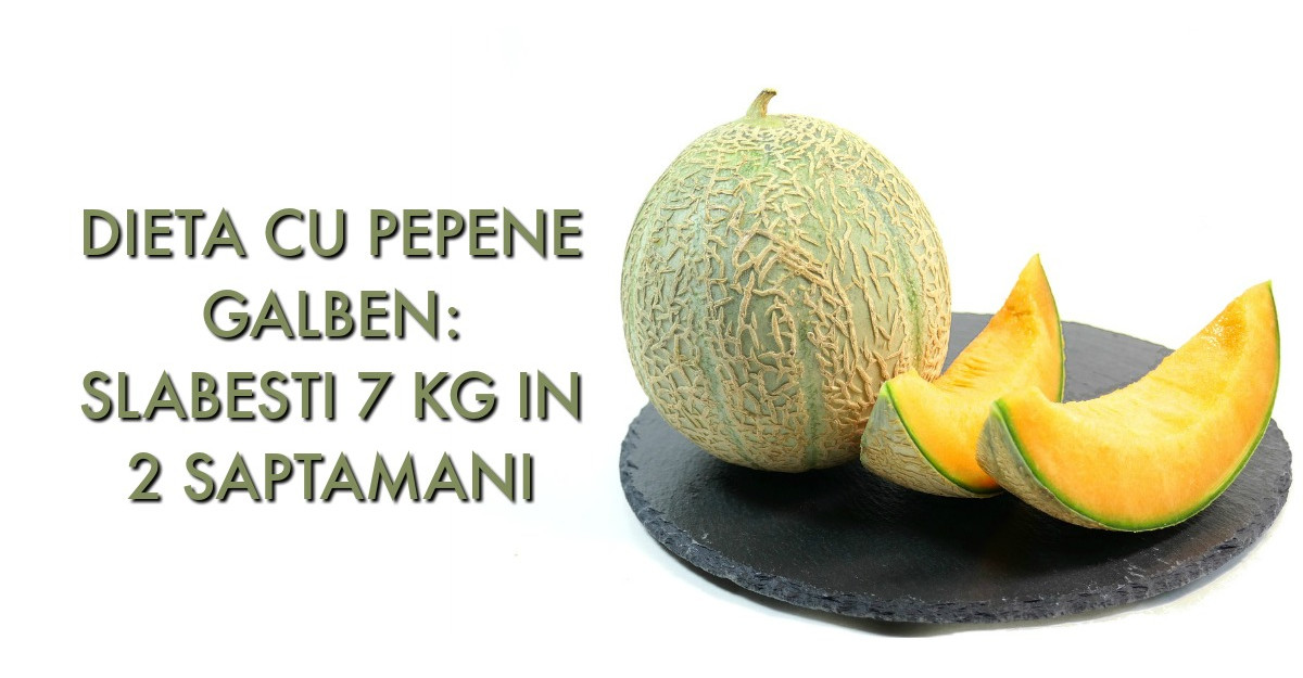 Dieta cu PEPENE GALBEN: slabesti 7 kg in 2 saptamani