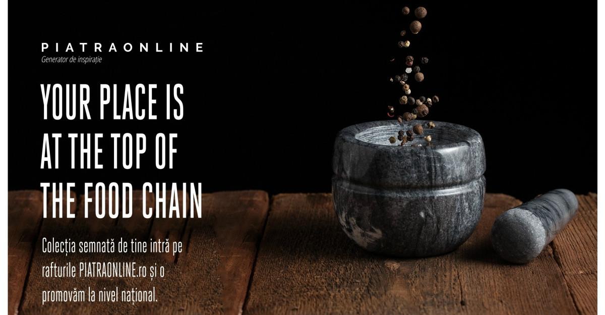 PIATRAONLINE lansează competiția FoodRocks dedicată designului de obiect de bucătărie