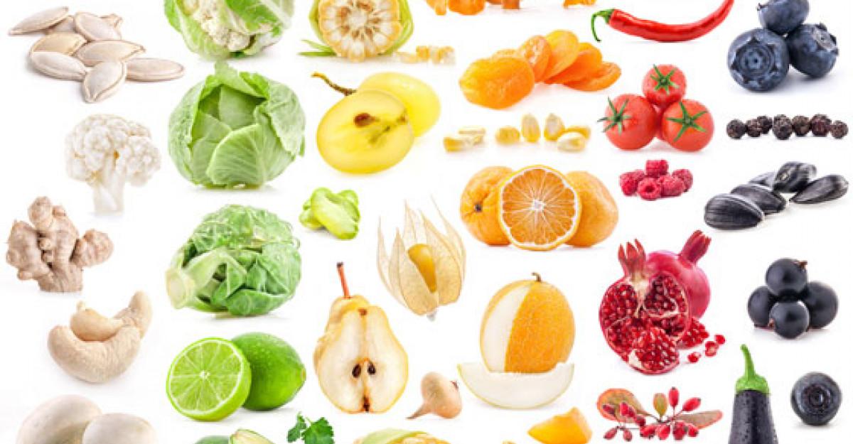 Curcubeul nutritiei - legumele si fructele colorate, o adevarata sursa de sanatate