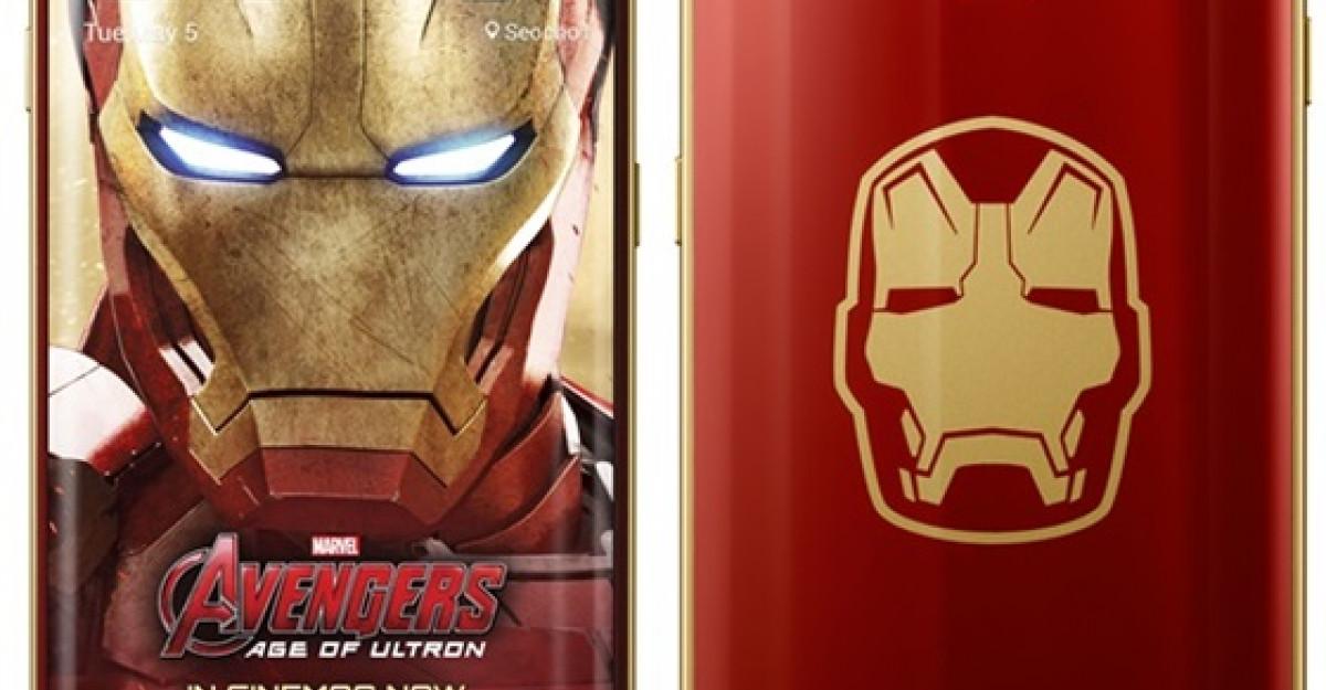 Samsung lanseaza editia limitata Galaxy S6 edge Iron Man