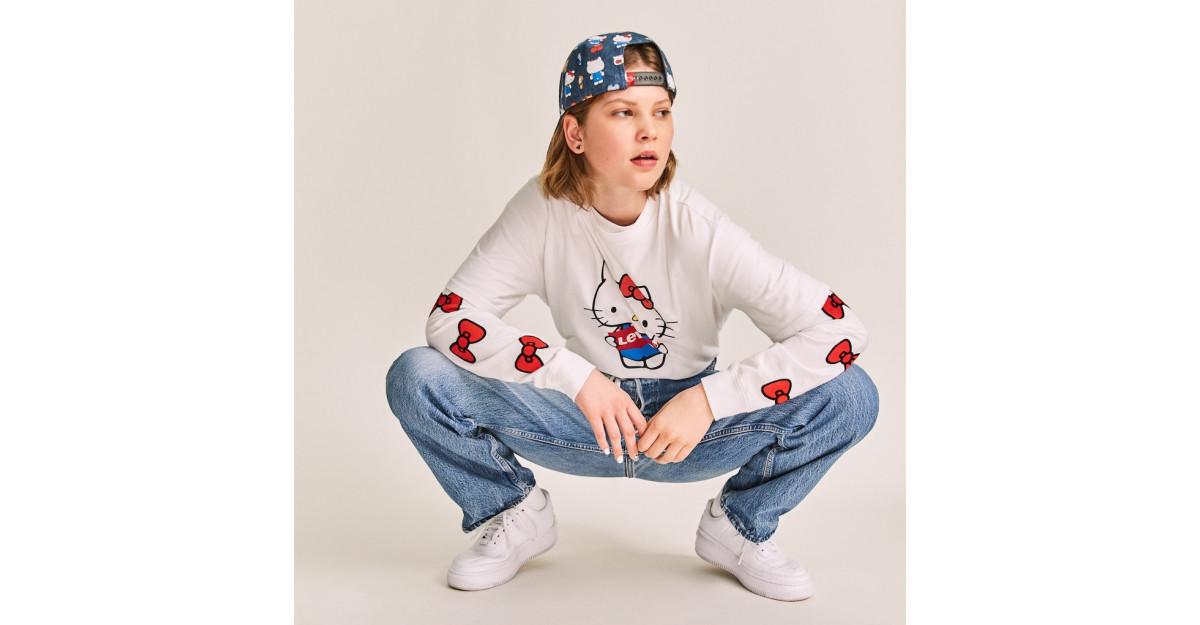 Levi's x Hello Kitty colaborarea ce dă un twist adorabil item-urilor clasice Levi's pentru colecția de toamnă-iarnă 2019