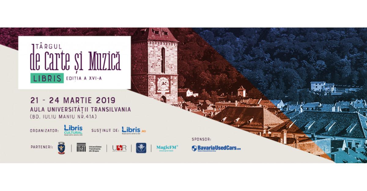 Peste 100 de evenimente culturale la Târgul de Carte și Muzică Libris Brașov - ediția a XVI-a