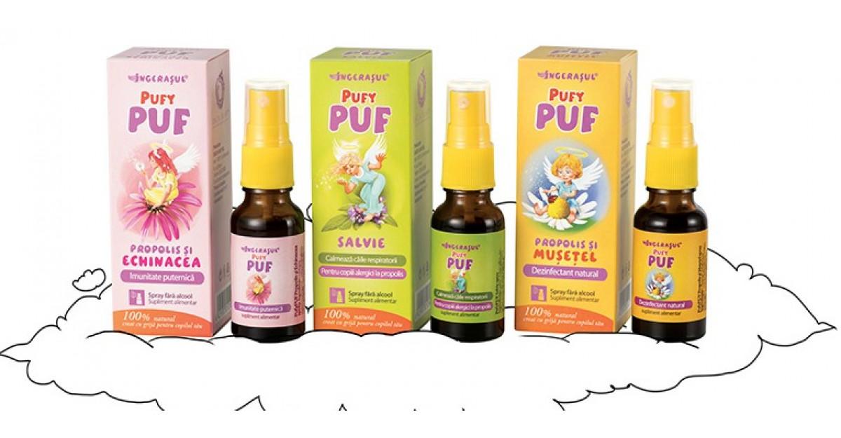 Dacia Plant lansează inovaţia Îngeraşul PufyPUF - sănătate pentru copii!