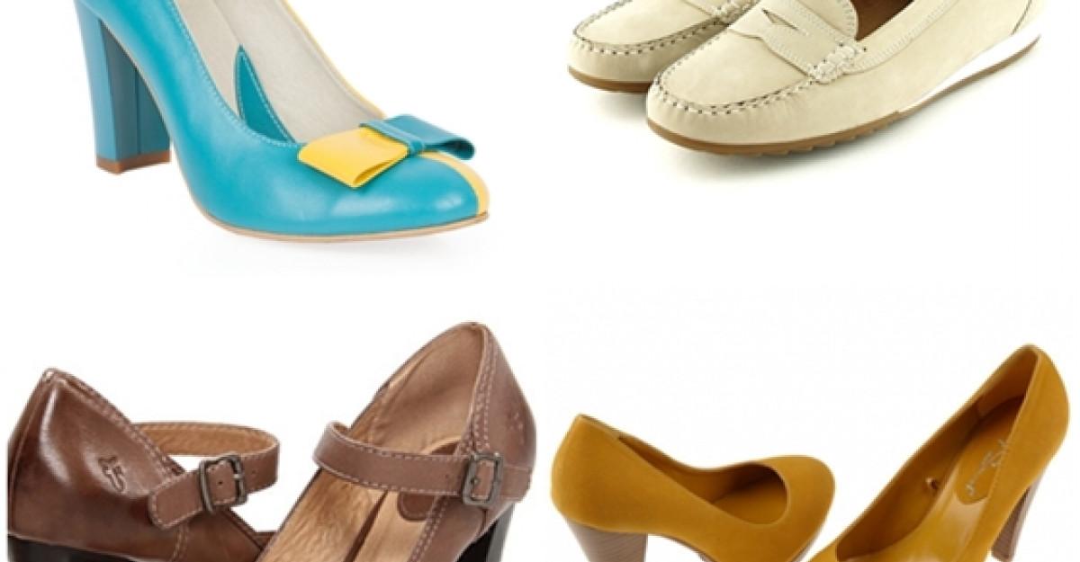 50 de modele de pantofi pentru toamna 2013
