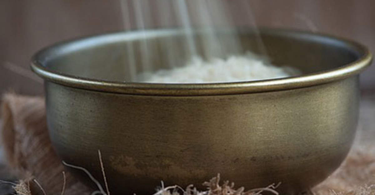 Masca de orez - secretul tineretii japoneze