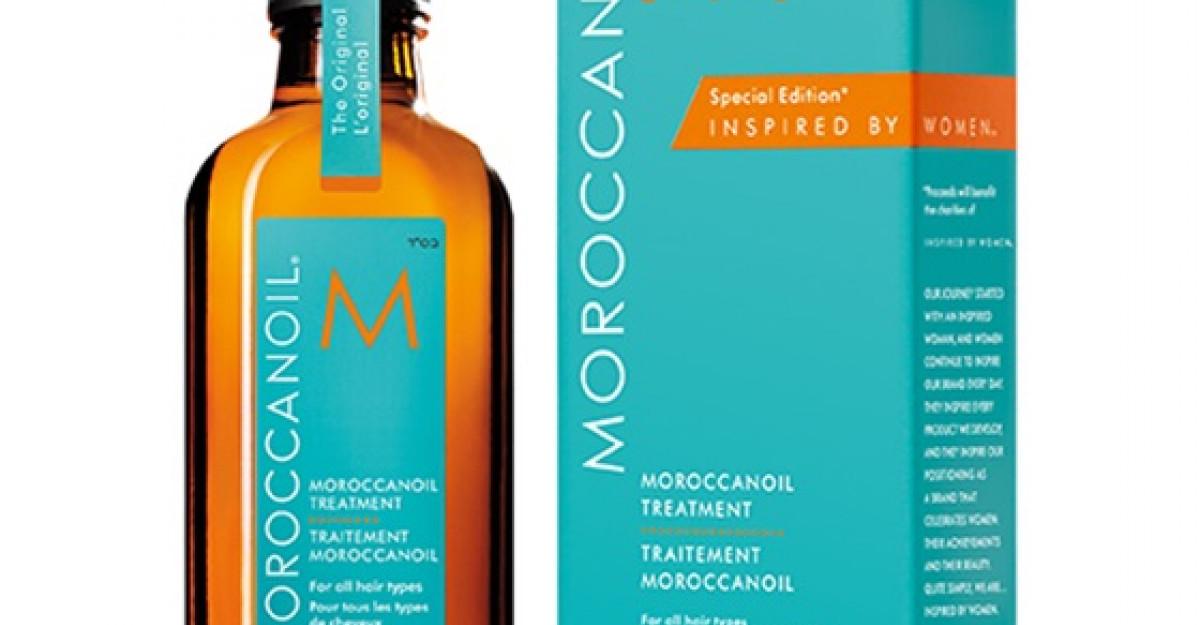 Noua editie speciala a Tratamentului MOROCCANOIL - Inspirat de Femeil