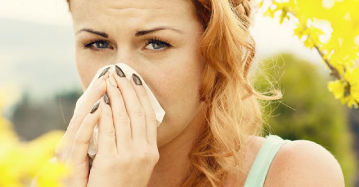 5 Tratamente naturiste pentru ALERGII