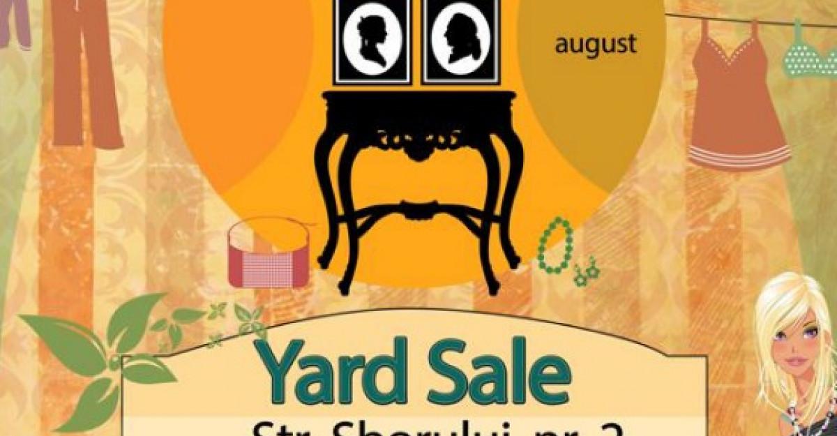 Yard Sale de August la Jacques Pot